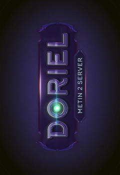 Doriel Metin2 Game Logo Template